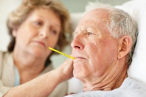 Vào mùa lạnh người cao tuổi thường mắc bệnh về hô hấp