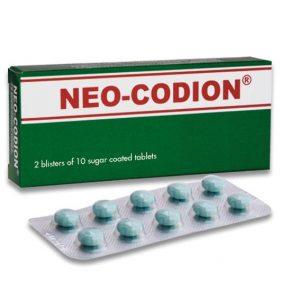 Liều dùng của thuốc neo codion