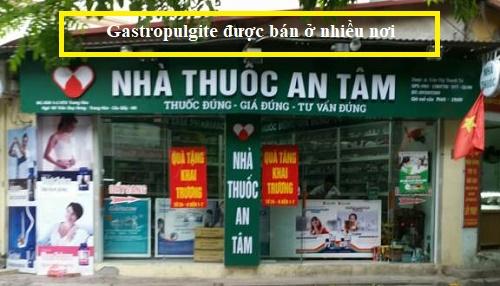 Thuốc Gastropulgite giá bao nhiêu
